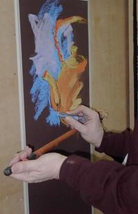 Using a mahl stick